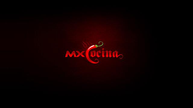 Mxcocina:墨西哥餐厅的LOGO设计。 辣得都着火了。。。