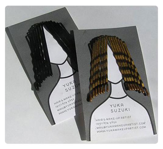 发型师的创意名片设计
