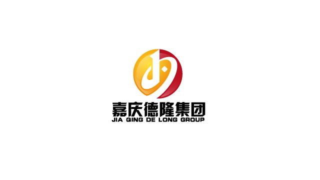 嘉庆德隆集团地产LOGO标志设计欣赏