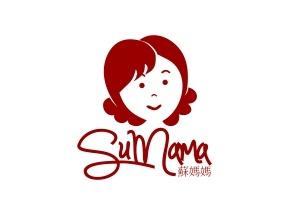 国外中餐厅的标志设计。 老板娘的卡通头像设计即刻带来亲和力