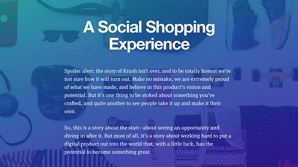 在展示案例研究方面,Teehan and Lax的设计师绝对是高手。他们是讲故事的专家。其网站的文字经常会萦绕形成他们的故事背景。从小处说,网站的正文字体都小巧精细,但标题却是厚重宏大。从大处说,网站独有的书面文字效果令人震惊。但不管怎么说,网站的设计团队在混搭小巧和厚重字体方面绝对不是盖的。