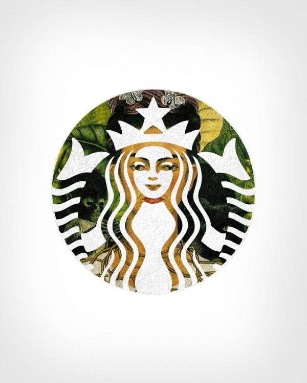 快来看看这些著名logo与名画的结合你能认出几个?