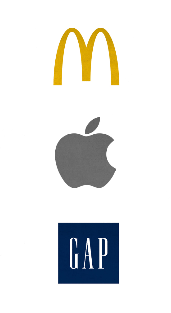 Logo圆角尖角大不同12