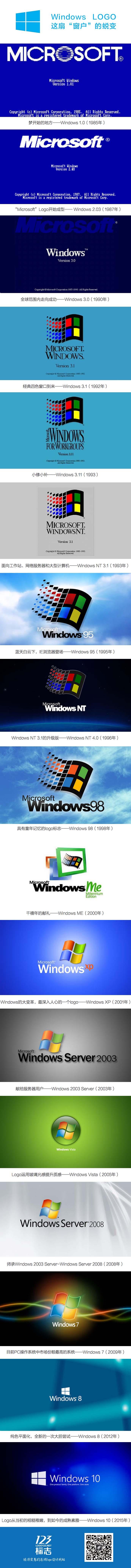 "Windows LOGO 这扇""窗户""的蜕变"