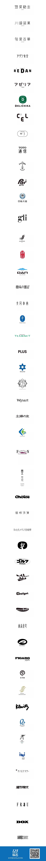 一组把文字设计做到极致的日本logo设计集锦