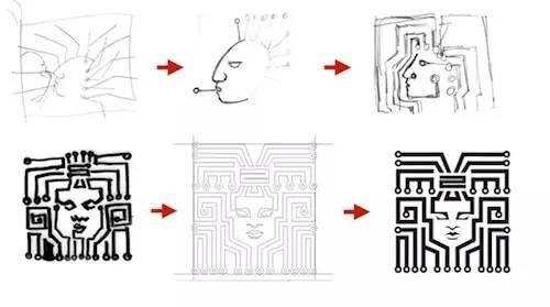 如何将自然图形规律运用于logo设计中