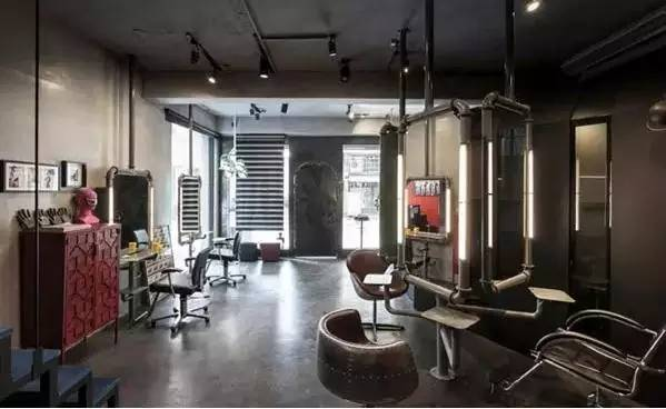 三个极具个性的复古风精品理发店品牌设计案例分享