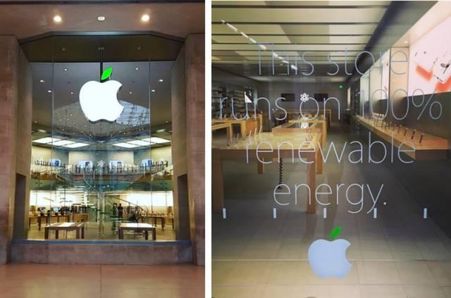 为了世界地球日,苹果LOGO上的叶子变成绿色,原来是因为世