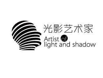 光影艺术家logo设计