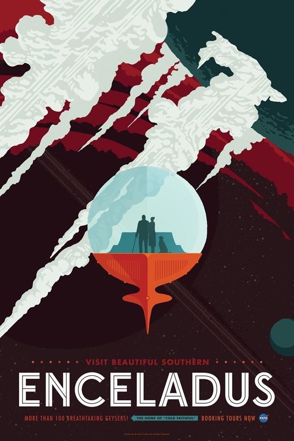 同样是航天局的海报,为什么差距会这么大呢?
