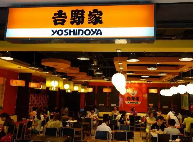 如何让快餐餐厅品牌吉野家充满了无印良品风