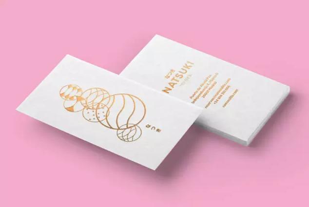 餐饮美食logo设计欣赏—Natsuki日料餐厅logo卡通形象设计10