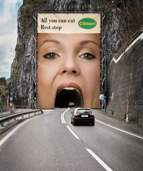 一组趣味十足的创意广告设计