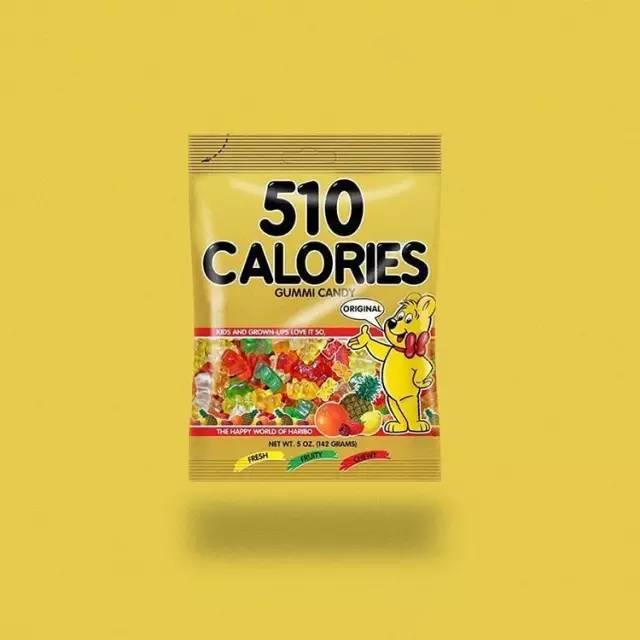 将卡路里数设计成馋