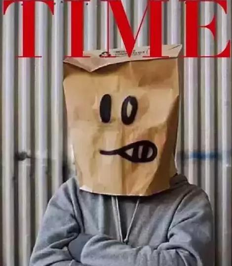 这位登上《时代》杂志封面街头艺术家的作品身价百万,却没有人见过他的真容?!14