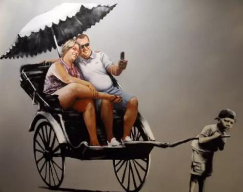 这位登上《时代》杂志封面街头艺术家的作品身价百万,却没有人见过他的真容?!6