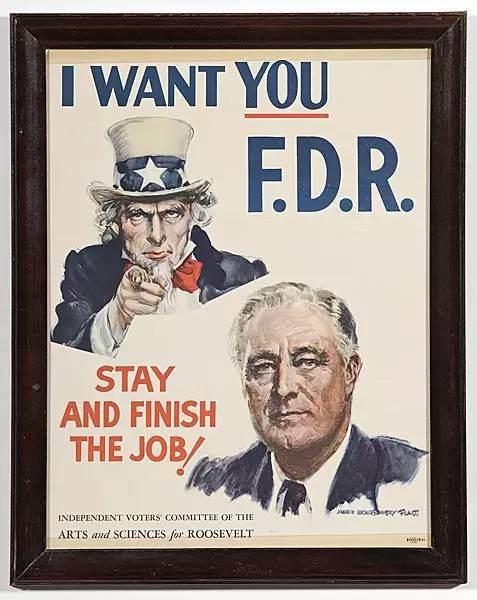 历年美国总统竞选海报设计,