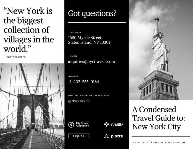 平面设计小技巧分享之如何设计一款优秀的宣传册36