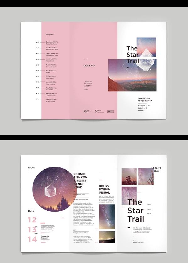 平面设计小技巧分享之如何设计一款优秀的宣传册50