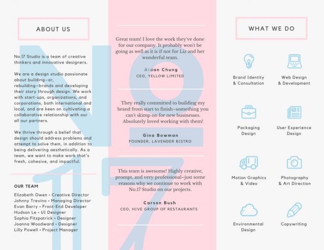 平面设计小技巧分享之如何设计一款优秀的宣传册69
