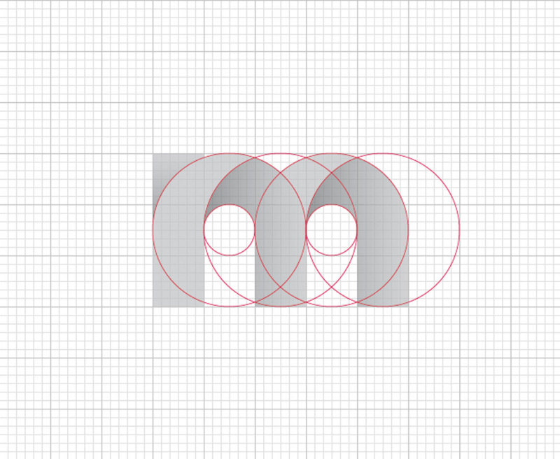 LOGO网格这个神器让你的LOGO设计一下子变得高大上!