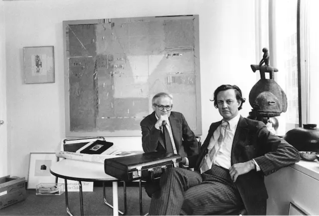 Ivan Chermayeff 与合作伙伴 Tom Geismar