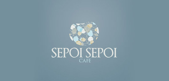 水杯与咖啡杯,距离五英寸。——咖啡Logo设计集锦