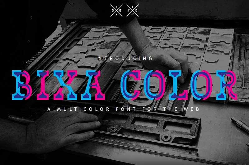 color fonts彩色元素字体设计logo的初学者指南