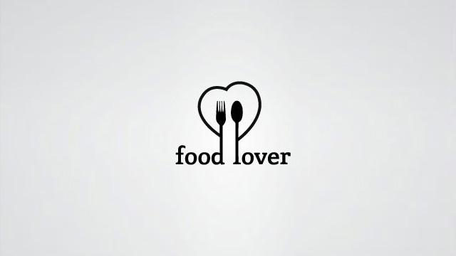 "Food Lover:中文应该叫""吃货餐厅""吧。Logo就是刀,叉,加喜欢(心)。"