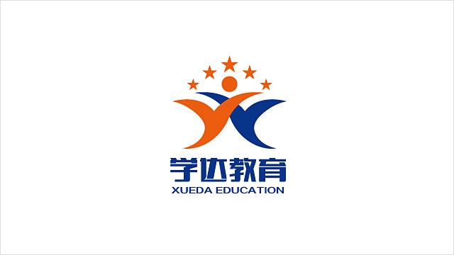 陕西学达教育科技有限公司标志设计