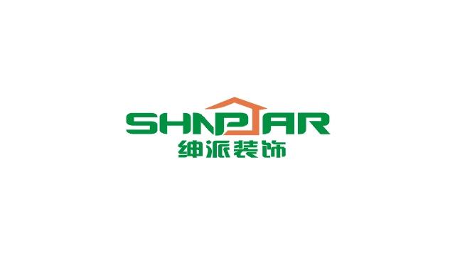 绅派装饰SHNPAR标志设计