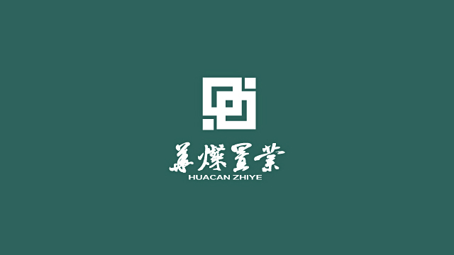河南华灿置业有限公司标志设计欣赏