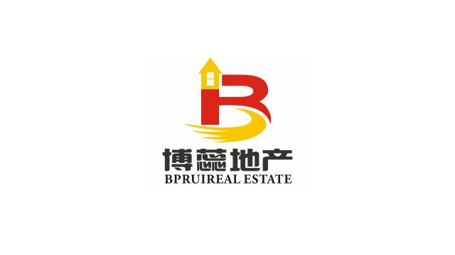 上海博蕊房地产经纪事务所标志设计欣赏