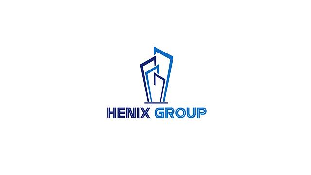 徽翔国际 HENIX GROUP英文标志设计