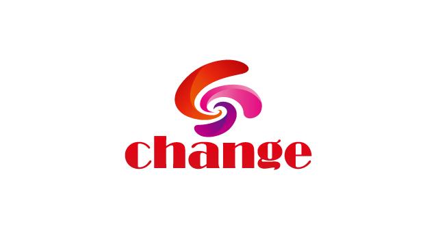 上海锐变贸易有限公司英文标志设计