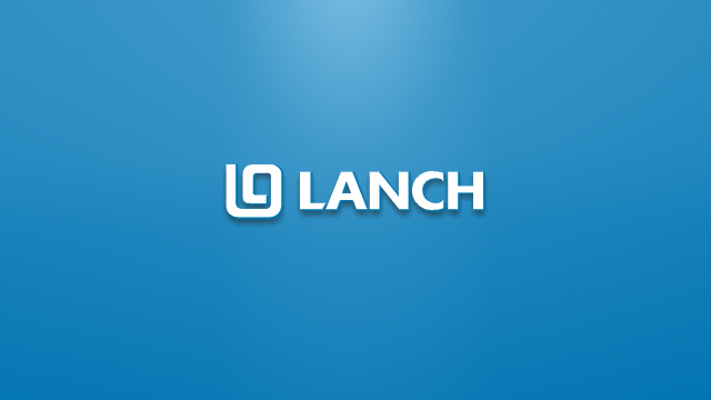 LC lanch英文标志设计