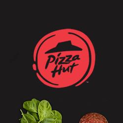 追求扁平化:必胜客logo标志中的茄汁