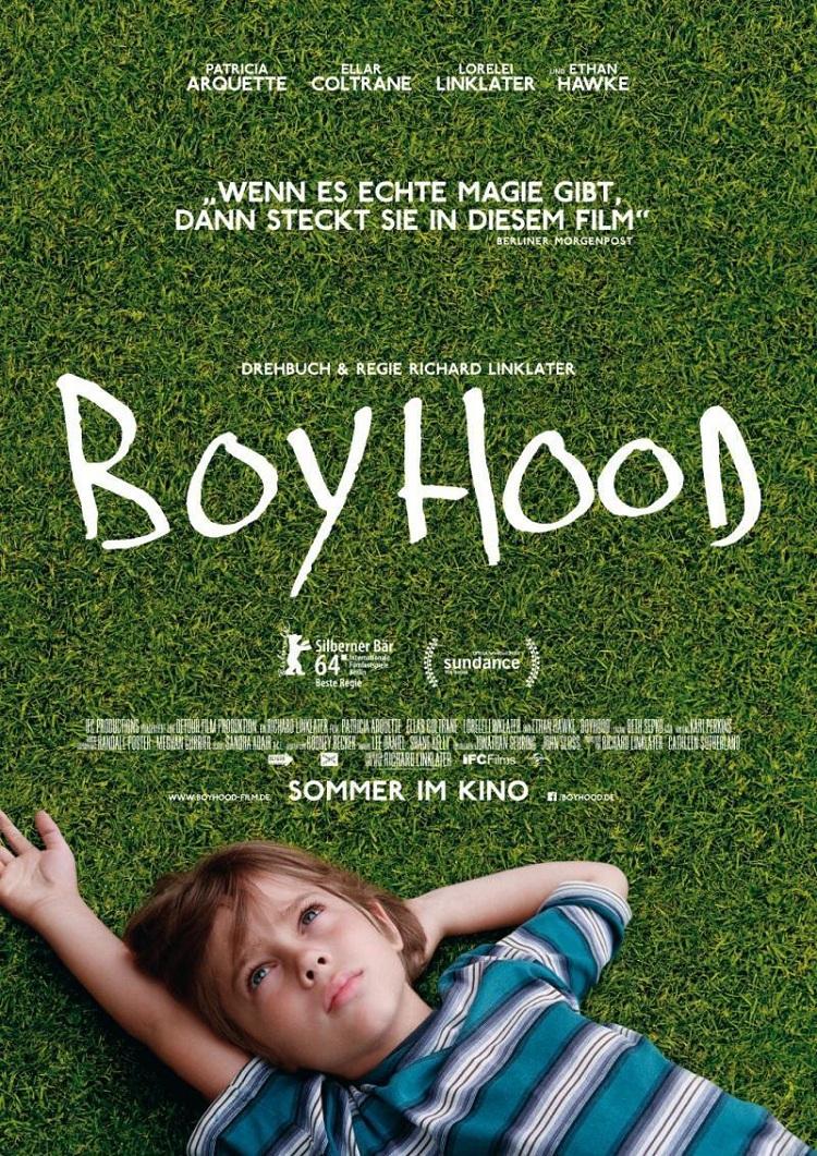Boyhood(少年时代)官方海报