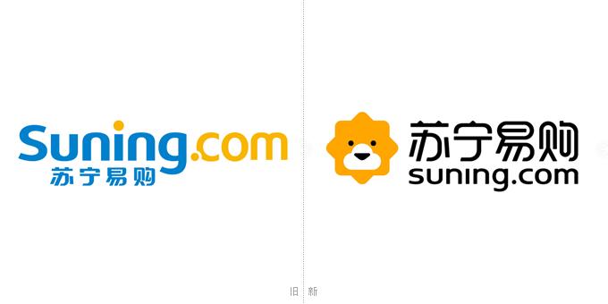 互联网圈又增加动物啦:苏宁易购全新logo设计曝光