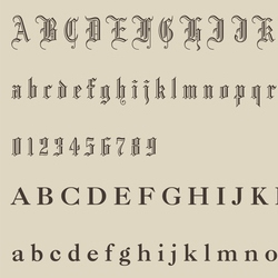 经典款英文字体设计推荐-123标志精选