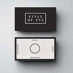 你也可以设计出来的极简名片设计欣赏-123标志精选
