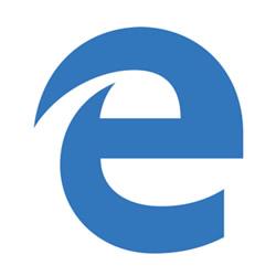 微软新浏览器Logo Microsoft Edge发布-123标志精选