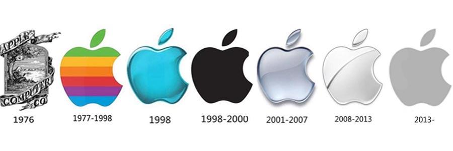 苹果logo进化史