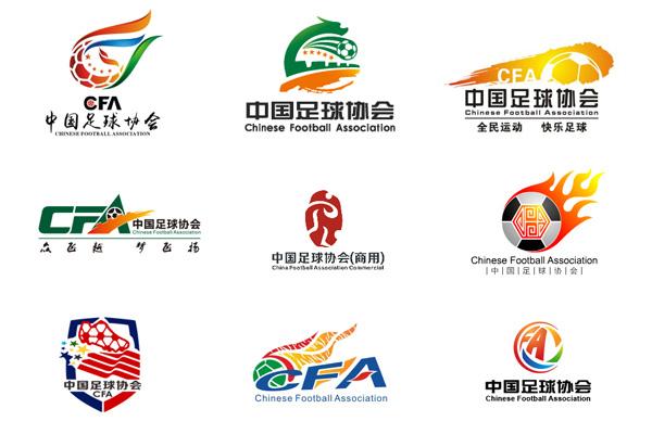 此次足协商用徽记,郑设计师围绕足球,龙,凤,腾飞,凤舞等元素团结汇聚