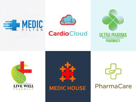 国外医疗健康元素logo设计欣赏集锦