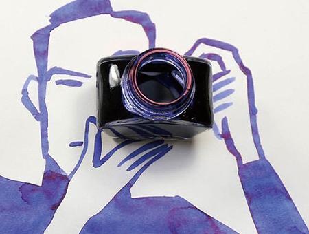 来自灵魂画家 Christoph Niemann的3D水彩插画欣赏