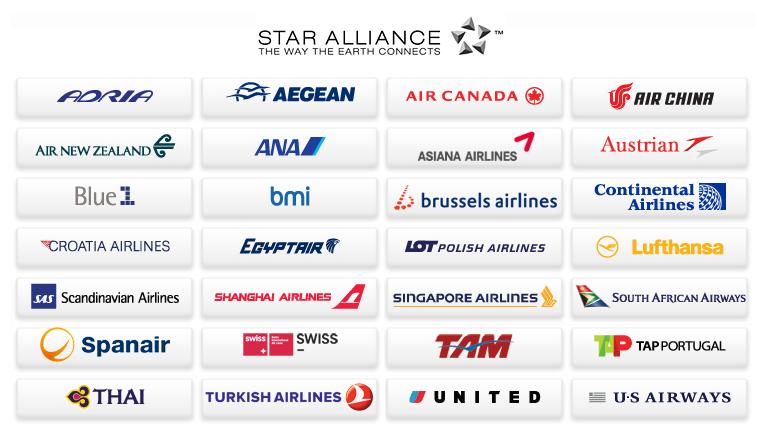 星空联盟航空公司logo