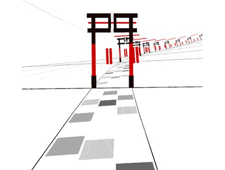 超炫酷的日本GIF动画字体LOGO设计