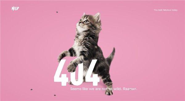 404页面,帮助你在网站找到迷失航线的灯塔!