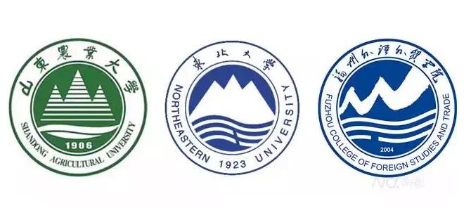 中国大学校徽标志设计全攻略6